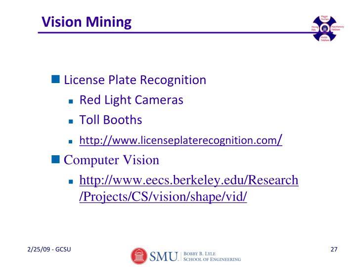 Vision Mining
