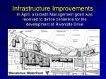 infrastructure improvements1