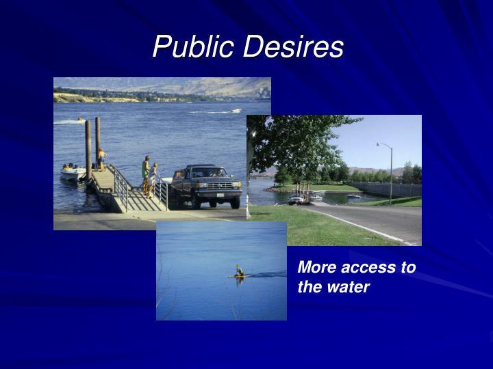 Public Desires