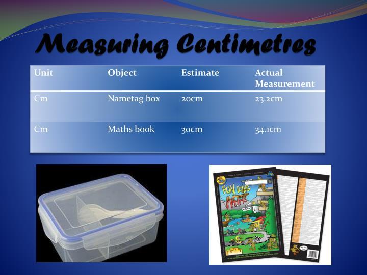 Measuring Centimetres