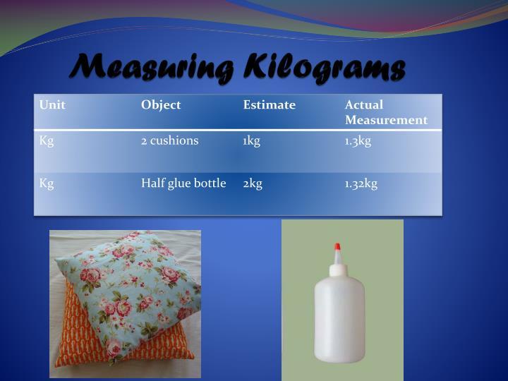 Measuring Kilograms