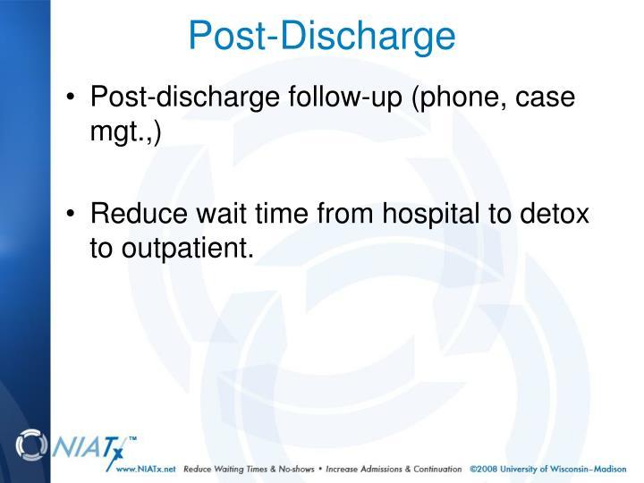 Post-Discharge
