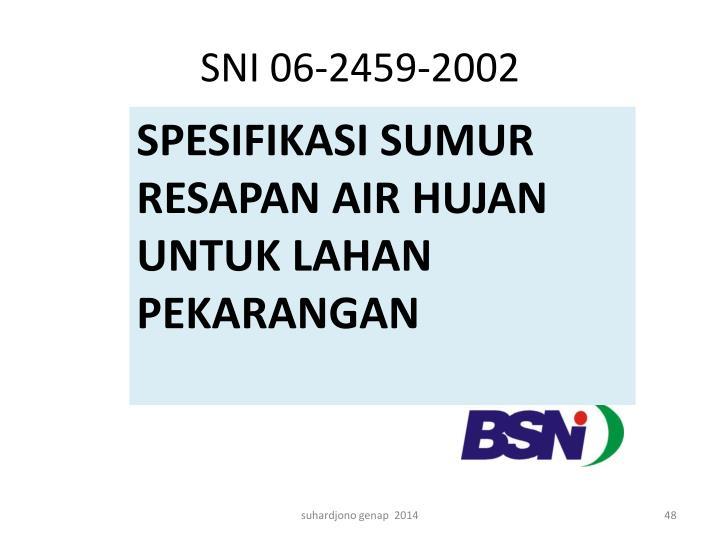SNI 06-2459-2002