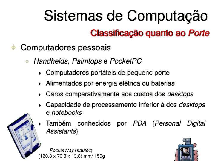 Sistemas de Computação