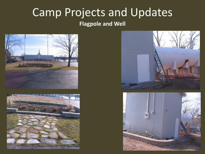 Camp projects and updates