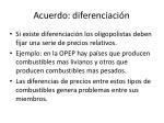 acuerdo diferenciaci n