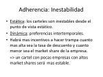 adherencia inestabilidad