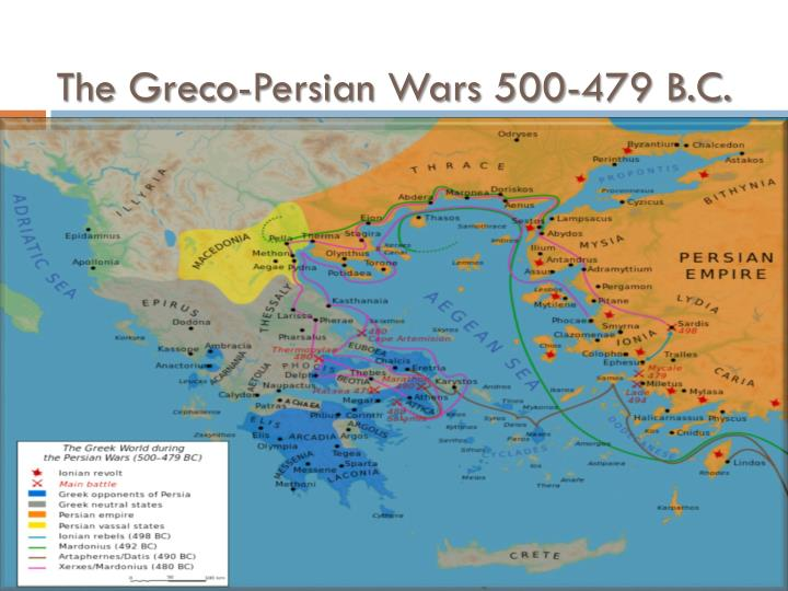 The Greco-Persian Wars 500-479 B.C.