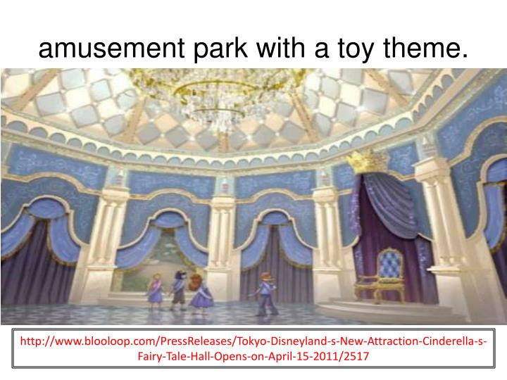 amusement park with a toy theme.