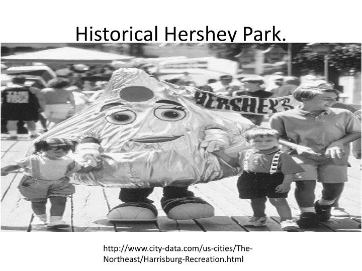 Historical Hershey Park.