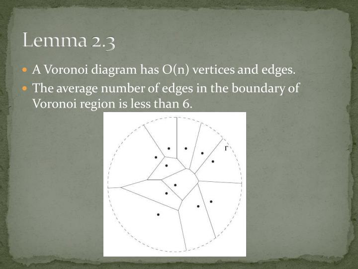 Lemma 2.3