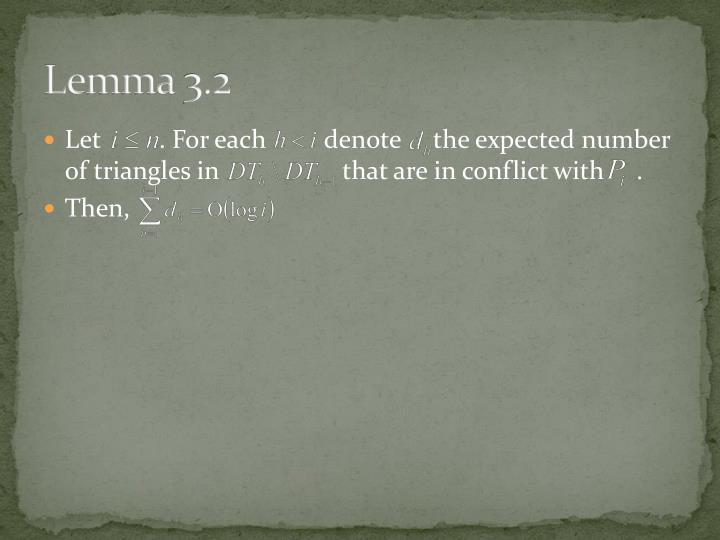 Lemma 3.2