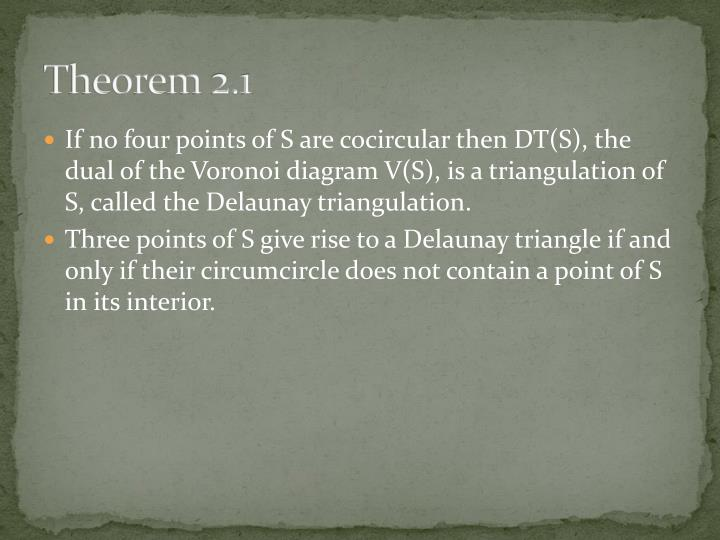 Theorem 2.1