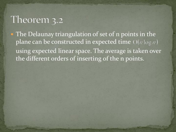 Theorem 3.2