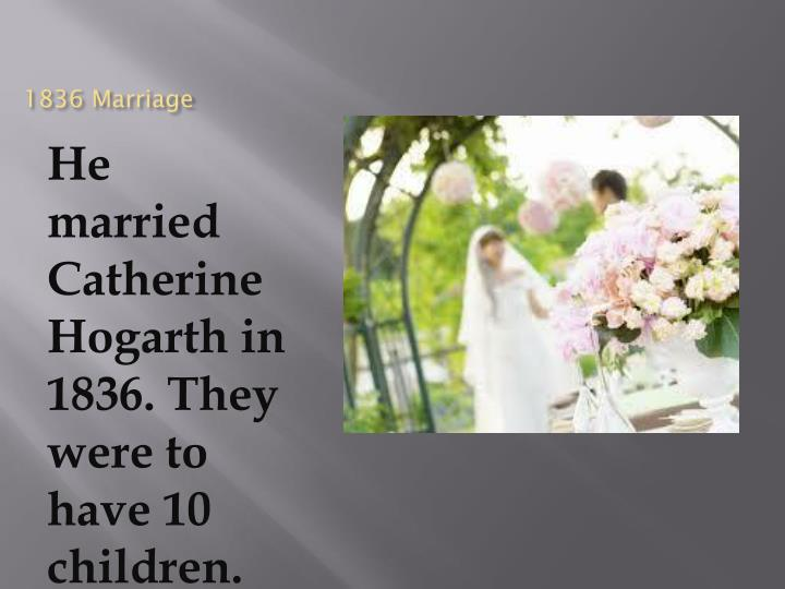 1836 Marriage
