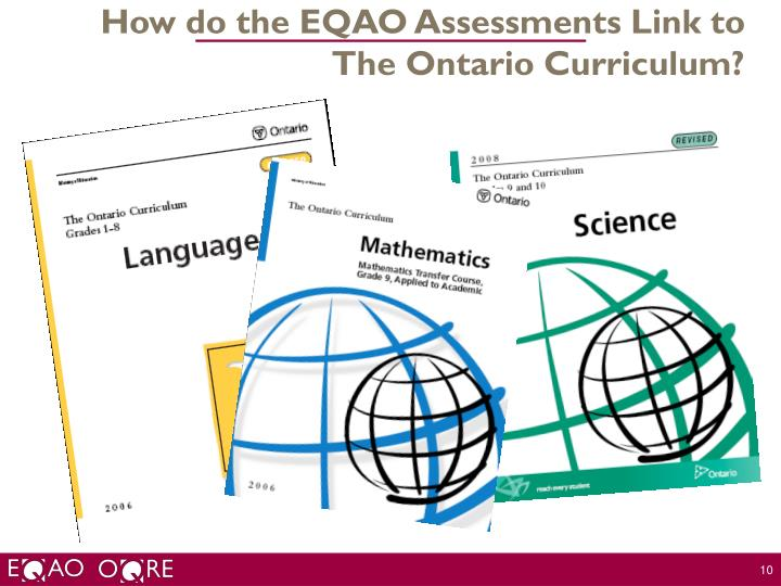 How do the EQAO Assessments Link to