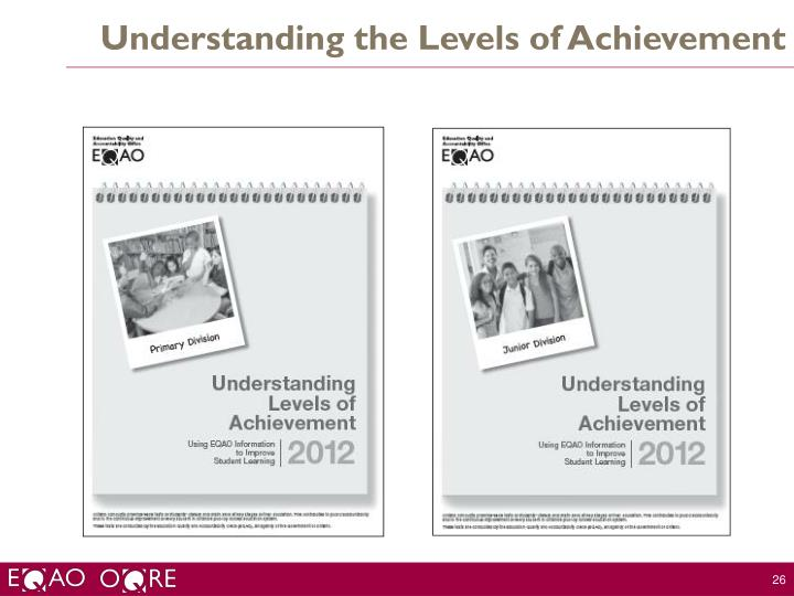 Understanding the Levels of Achievement