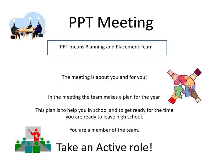 PPT Meeting