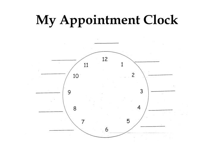 My Appointment Clock