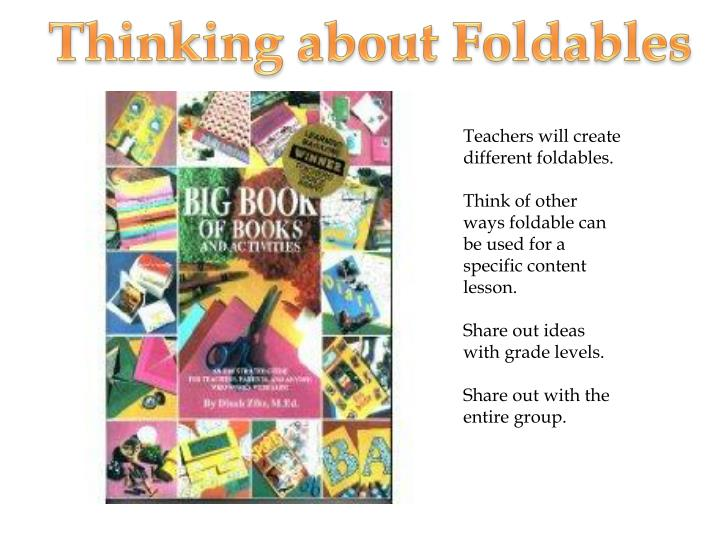 Thinking about Foldables