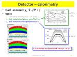 detector calorimetry1