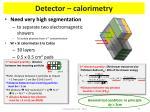 detector calorimetry2