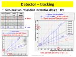 detector tracking2