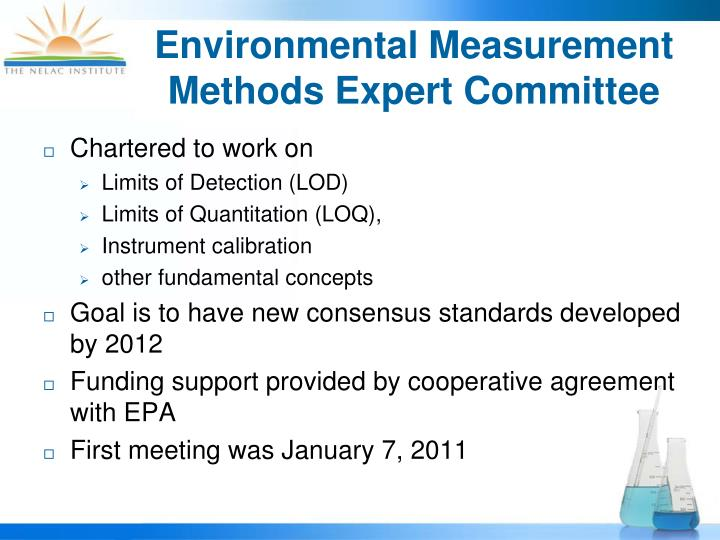 Environmental Measurement Methods Expert Committee
