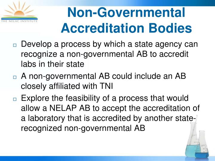 Non-Governmental Accreditation Bodies