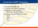 enhanced csrf protection