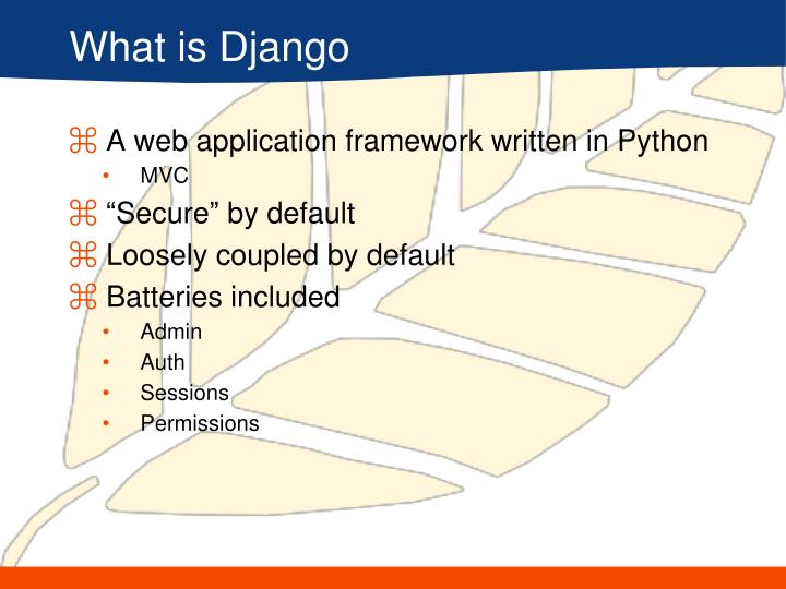What is Django