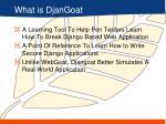 what is djangoat