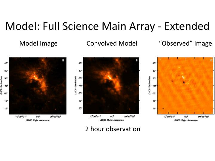 Model: Full Science Main Array - Extended