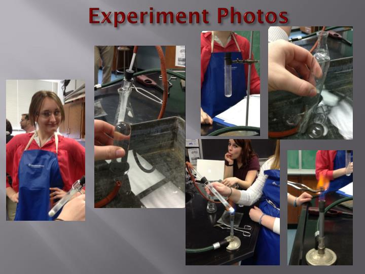 Experiment photos