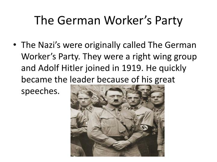 The German Worker's Party
