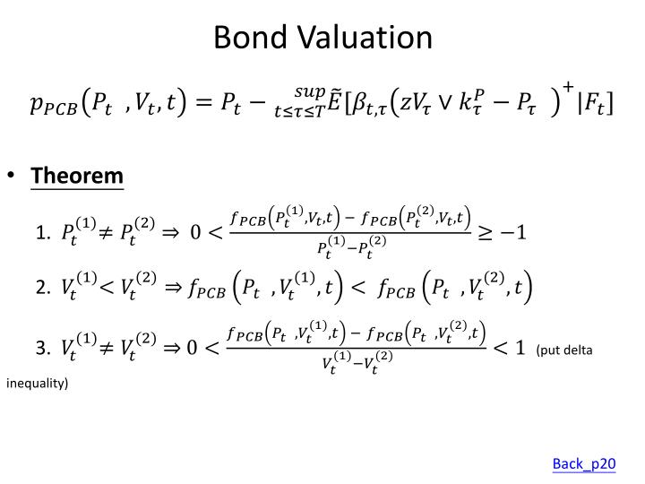 Bond Valuation
