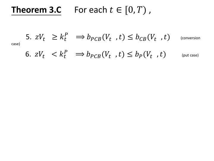 Theorem 3.C