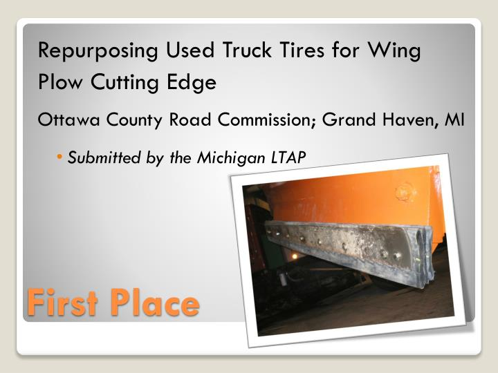Repurposing Used Truck Tires for Wing