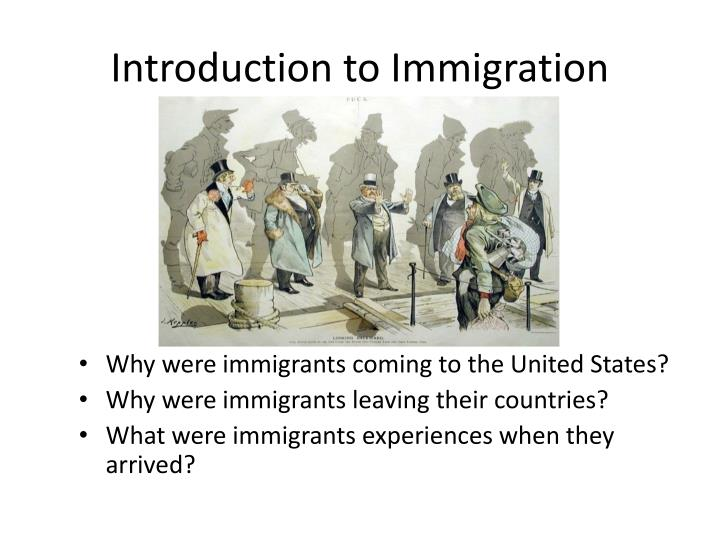 Introduction to Immigration