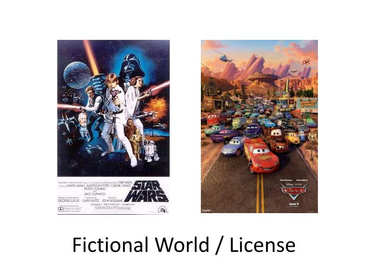 Fictional World / License