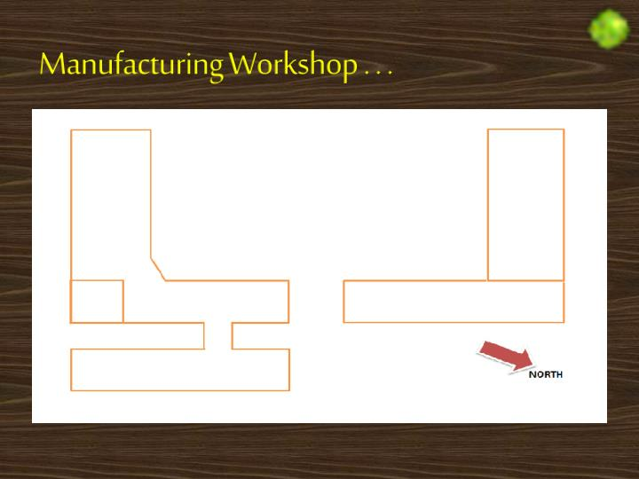 Manufacturing Workshop . . .