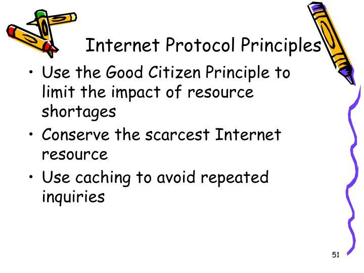 Internet Protocol Principles