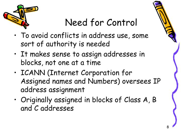 Need for Control