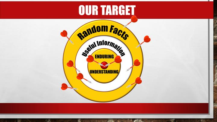 OUR TARGET