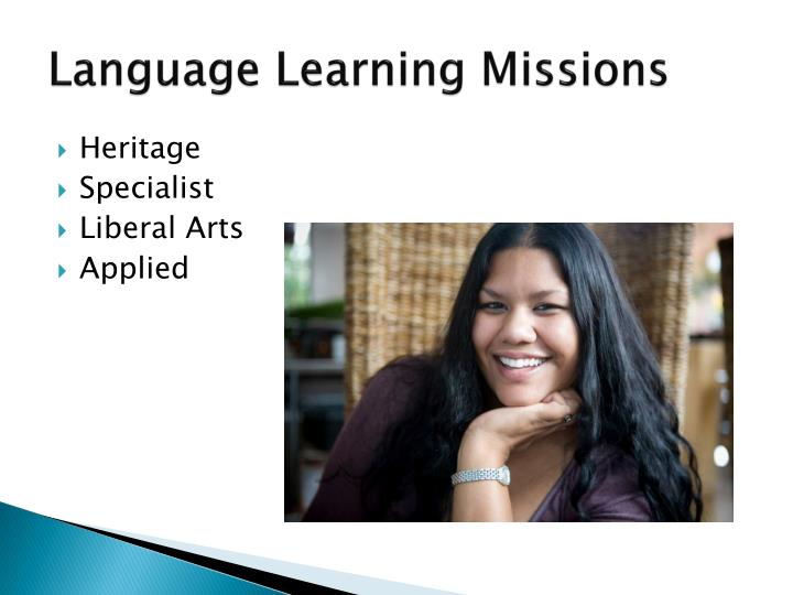 Language Learning Missions