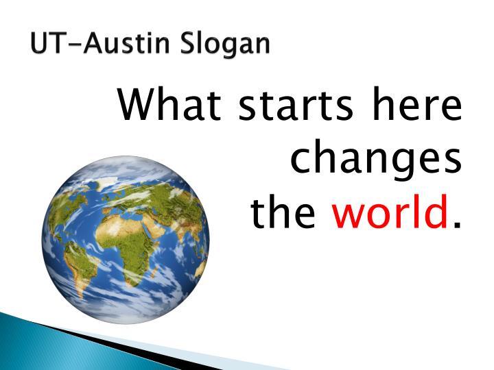 UT-Austin Slogan