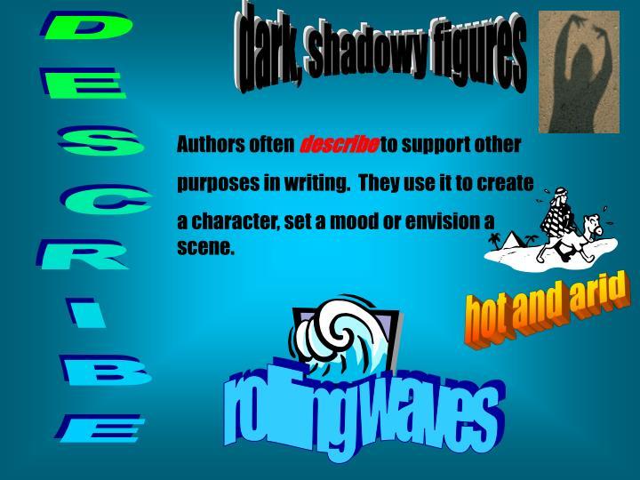dark, shadowy figures