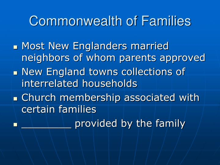 Commonwealth of Families