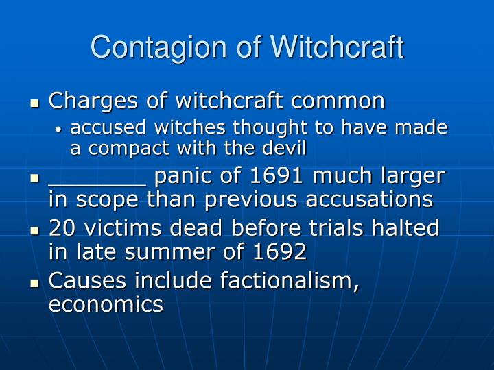 Contagion of Witchcraft