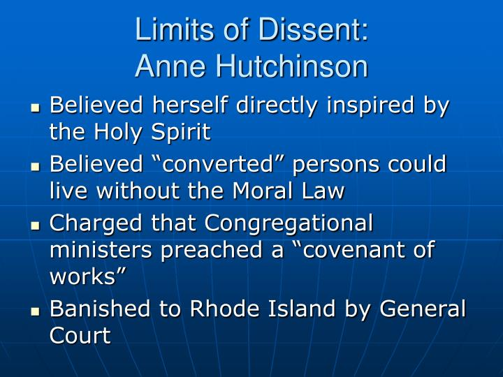Limits of Dissent: